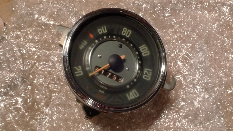 VW type 1 speedometer1