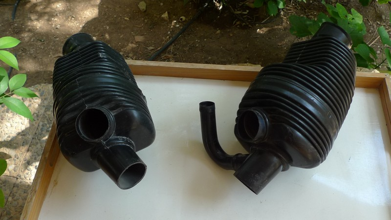 VW Karmann Ghia type 34 heater elements pair1