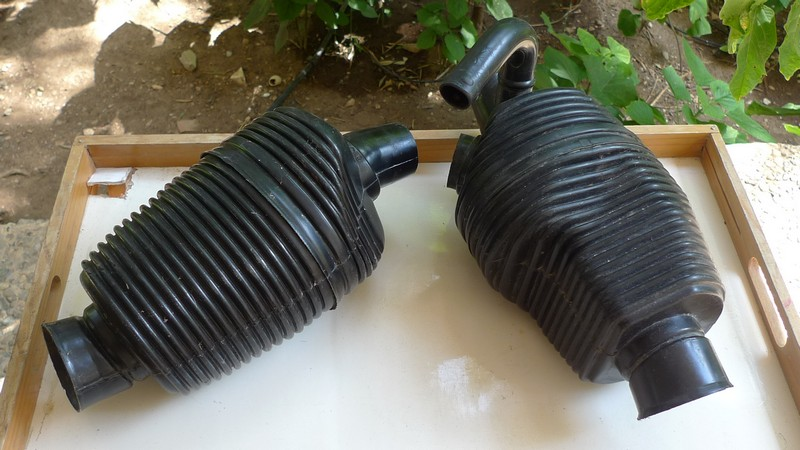 VW Karmann Ghia type 34 heater elements pair2