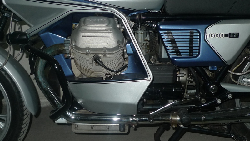 6 leftside engine