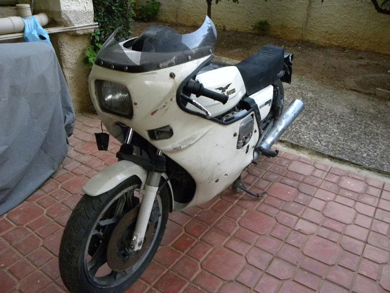 1 Motoguzzi LemansIII 1982 Αs Found