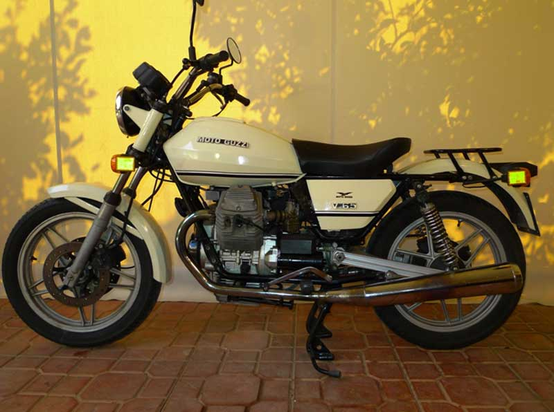 For Sale Moto Guzzi V65 Police 1982 Showroom Of