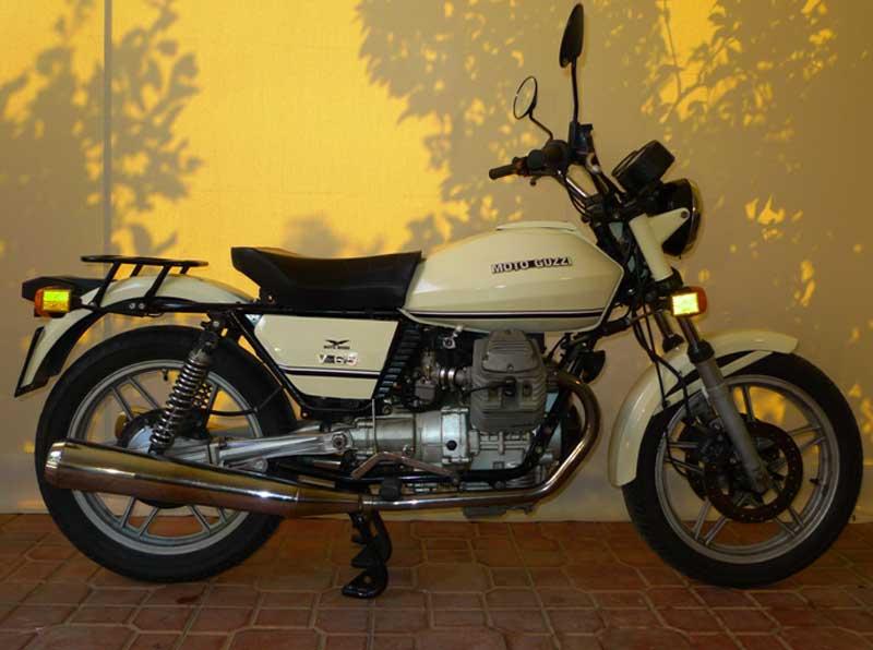 4 Motoguzzi V65 Police Florda