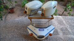 Vintage NOS SHOEI saddlebags / fairing