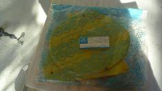 Gilera GR2 side number plate holder