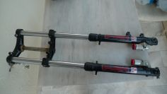 Gilera RV 125 PAIOLI complete front fork NOS